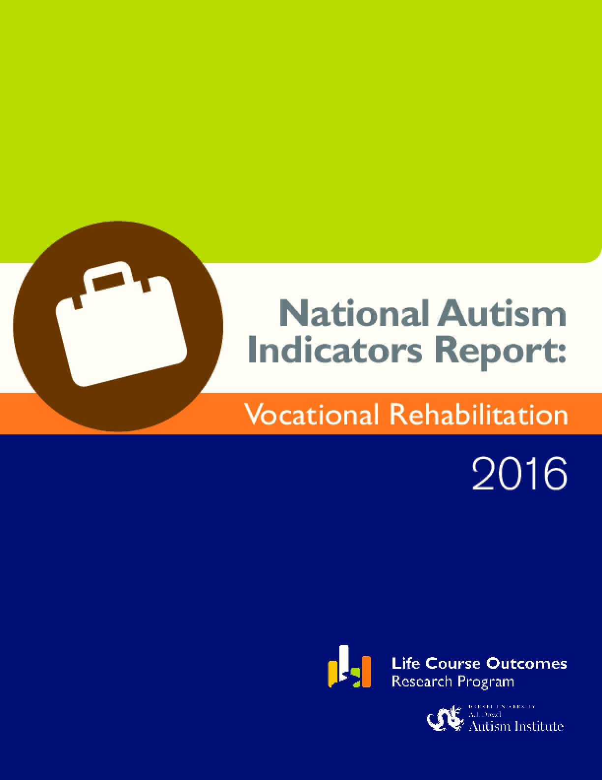 National Autism Indicators Report: Vocational Rehabilitation 2016