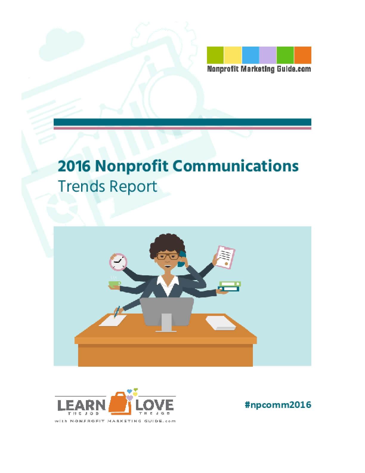 2016 Nonprofit Communications Trends Report