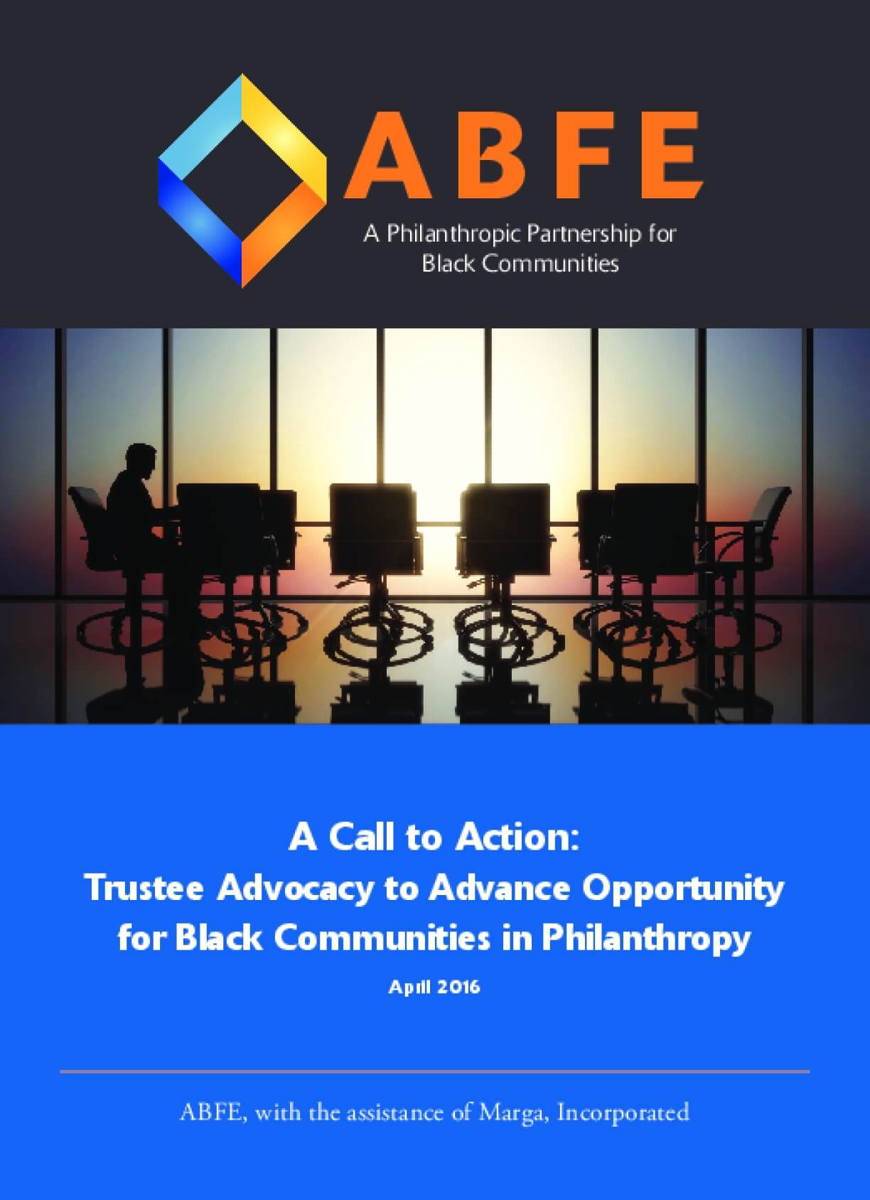 A Call to Action: Trustee Advocacy to Advance Opportunity for Black Communities in Philanthropy