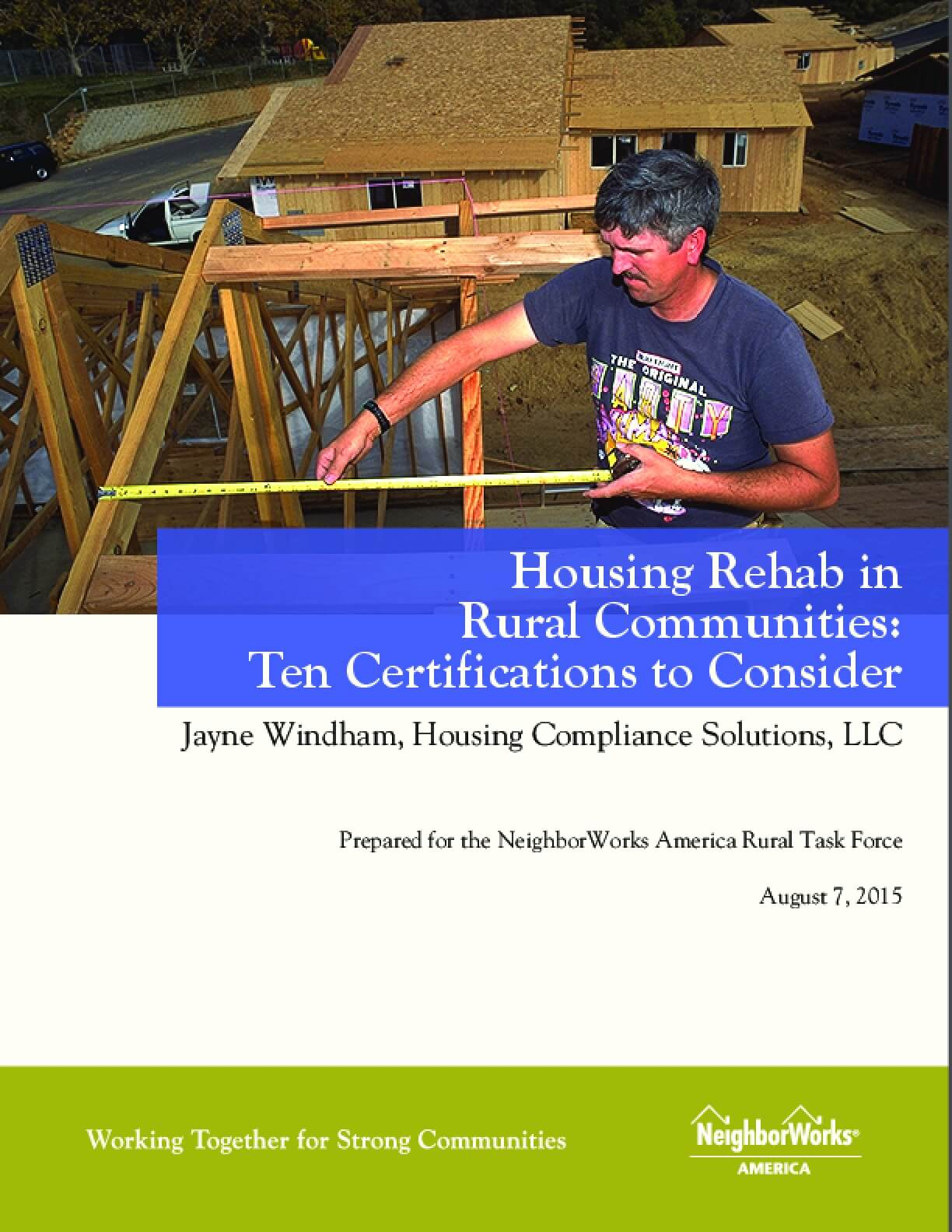 Housing Rehab in Rural Communities: Ten Certifications to Consider