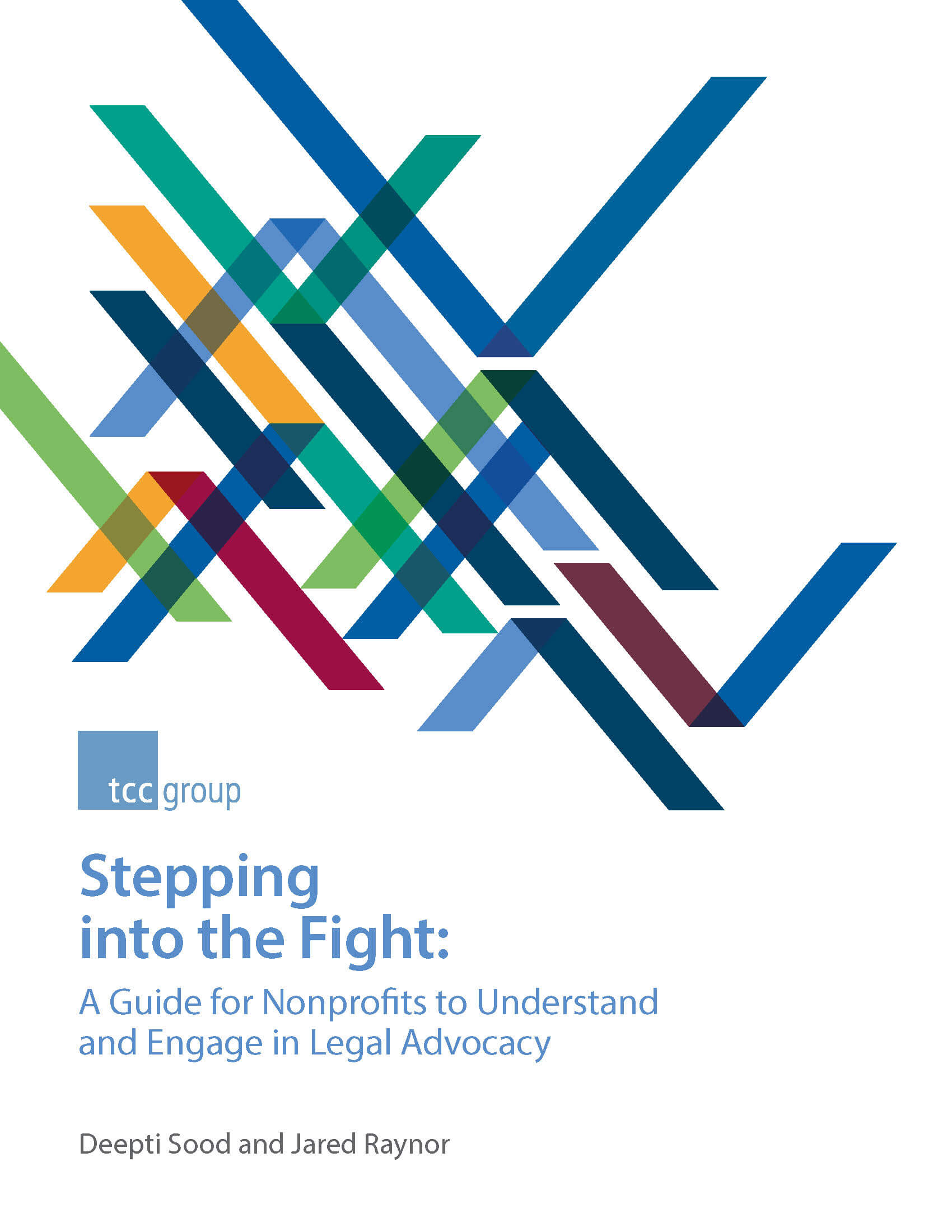 Stepping into the Fight: A Guide for Nonprofits to Understand and Engage in Legal Advocacy