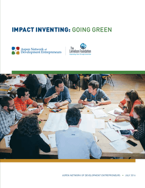 Impact Inventing: Going Green