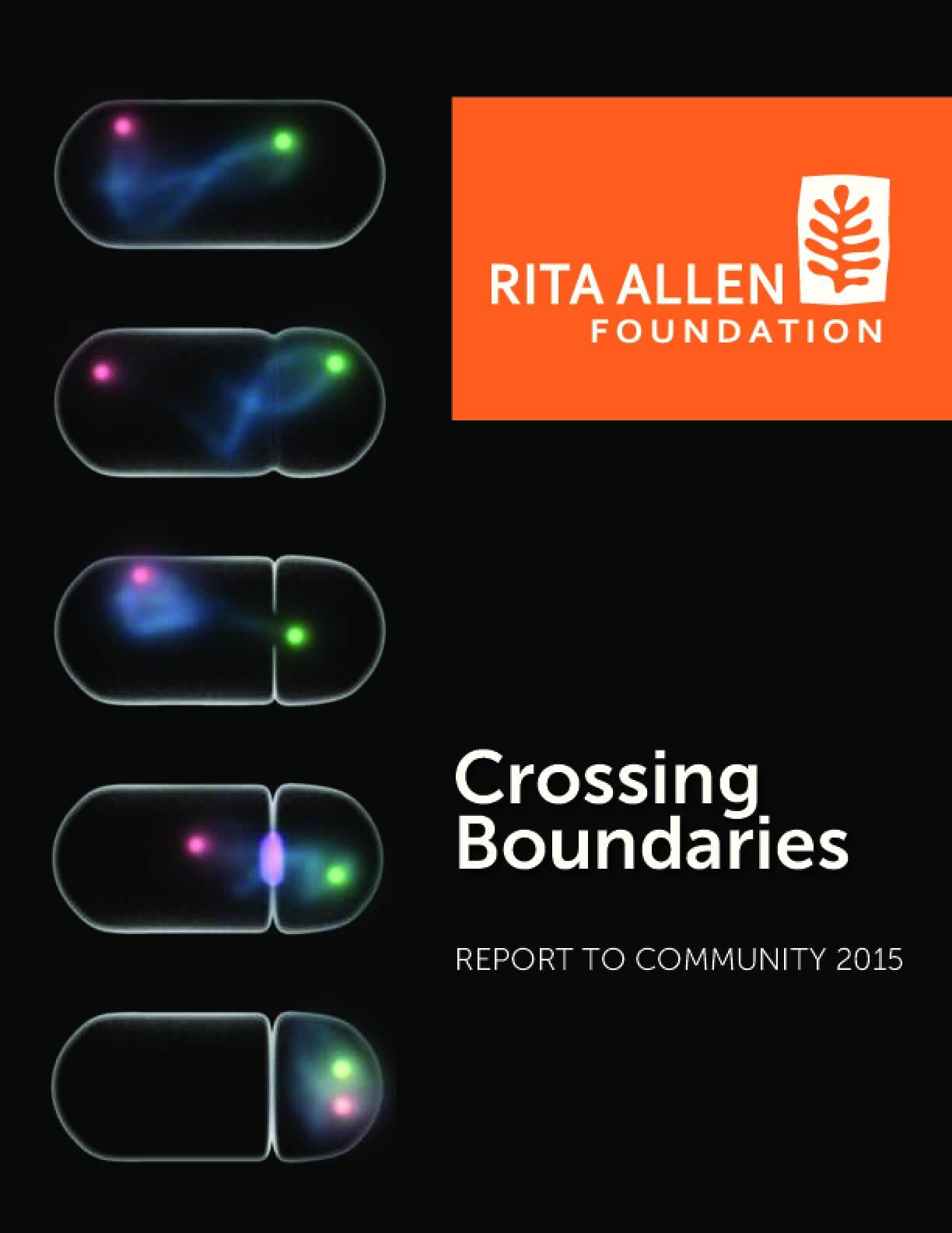 Crossing Boundaries: Report to Community 2015
