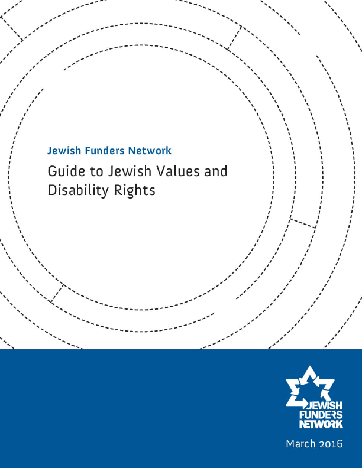 Guide to Jewish Values and Disability Rights
