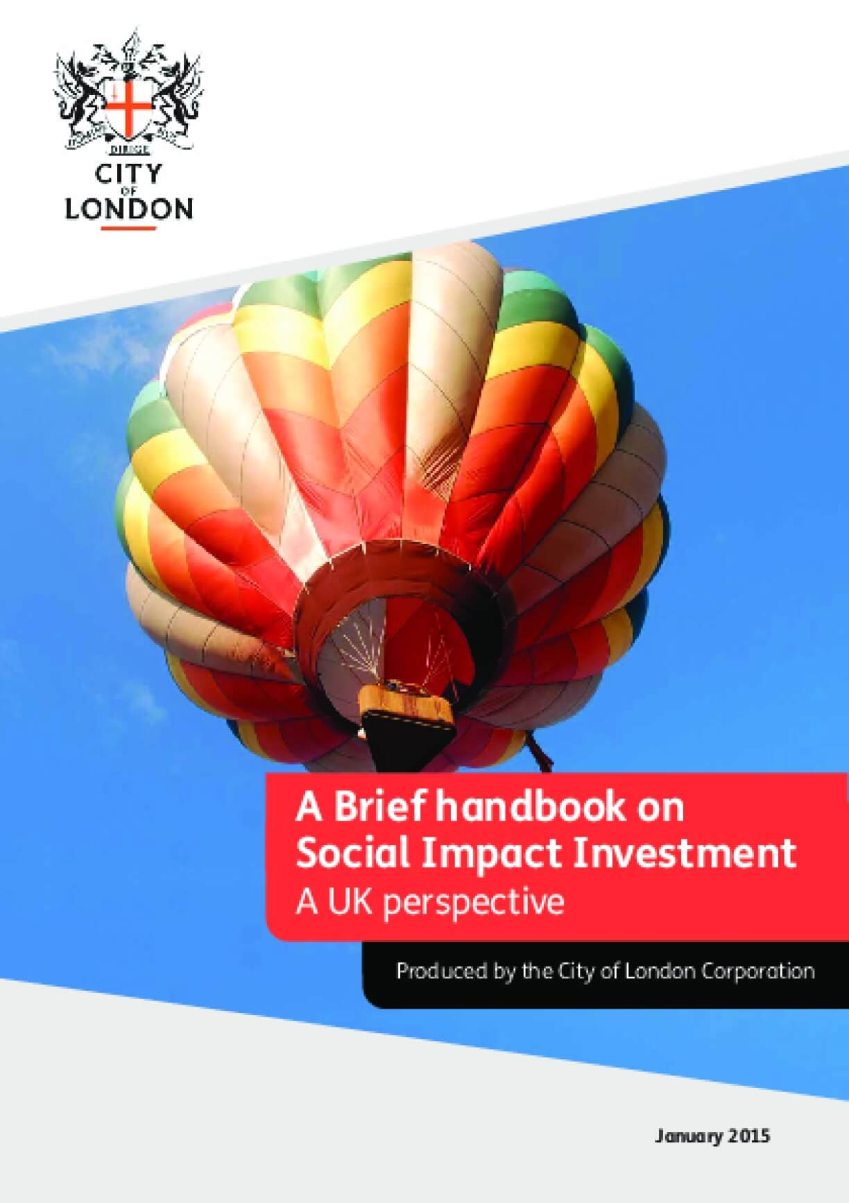 A Brief Handbook on Social Impact Investment: A UK Perspective