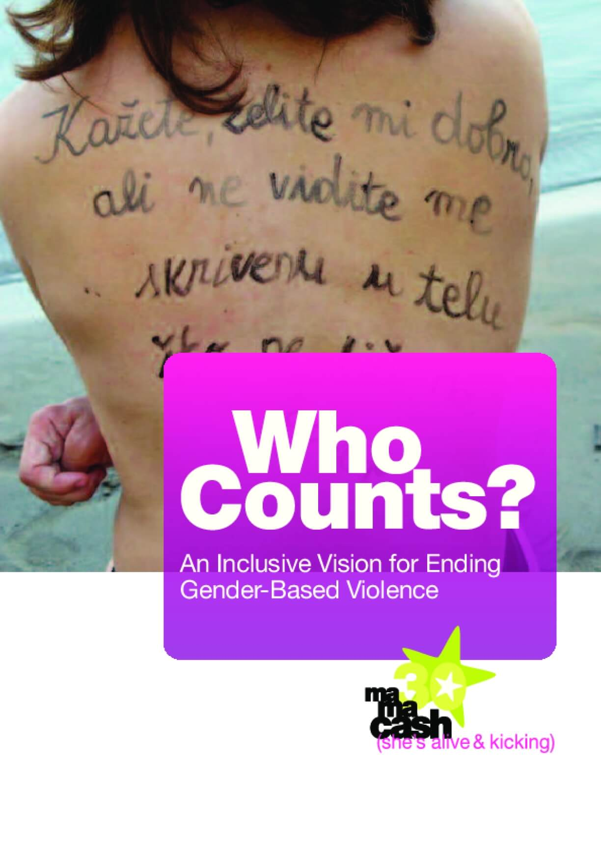 Who Counts? An inclusive Vision for Ending Gender-Based Violence