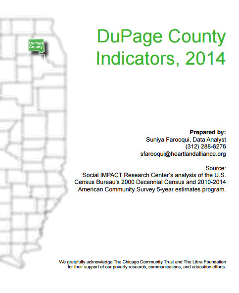 DuPage County Indicators Databook 2014