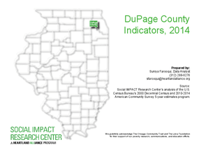 DuPage County Indicators Databook 2014