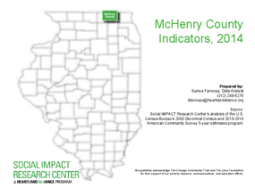 McHenry County Indicators, 2014