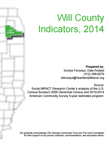Will County indicators 2014