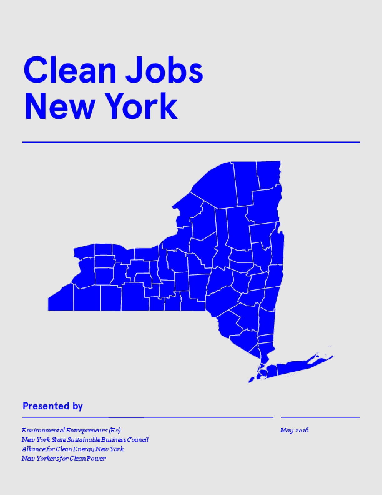 Clean Jobs New York