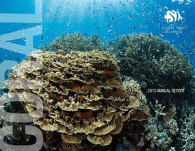 Coral Reef Alliance: 2015 Annual Report