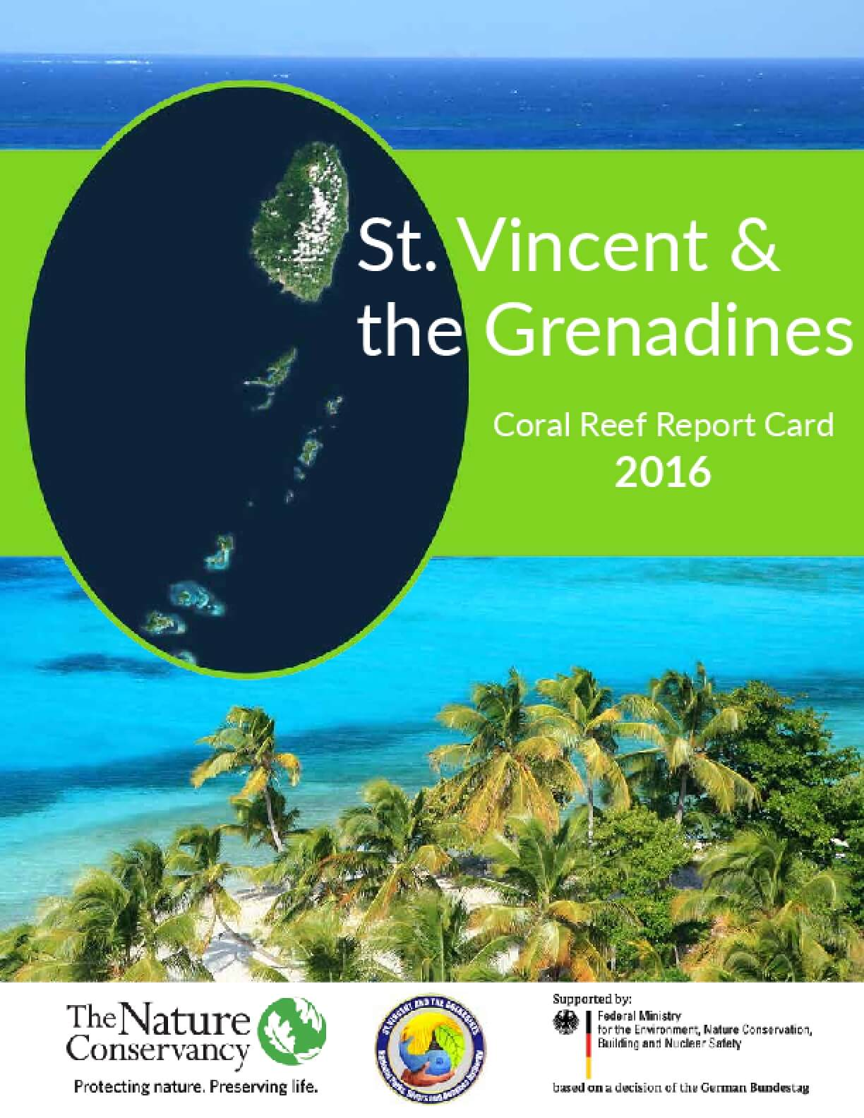 St. Vincent & the Grenadines: Coral Reef Report Card 2016