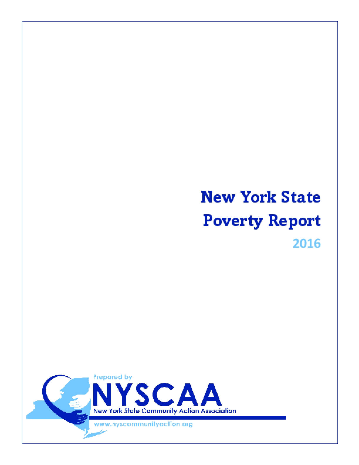 New York State Poverty Report 2016