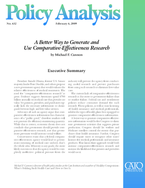 A Better Way to Generate and Use Comparative-Effectiveness Research