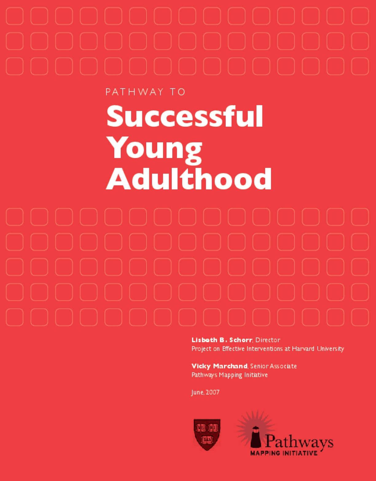 Pathway to Successful Young Adulthood
