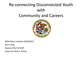 Reconnecting Disconnected Youth with Community and Careers