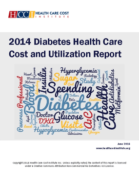 2014 Diabetes Health Care Cost and Utilization Report