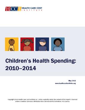 Children's Health Spending: 2010-2014