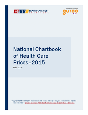 National Chartbook of Health Care Prices–2015