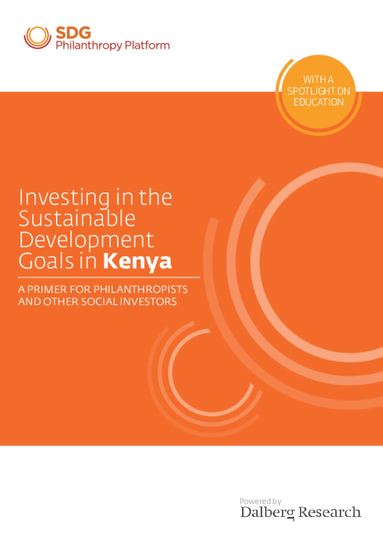 Investing in the Sustainable Development Goals in Kenya: A Primer for Philanthropists and Other Social Investors