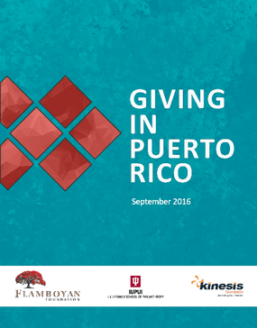 Giving In Puerto Rico