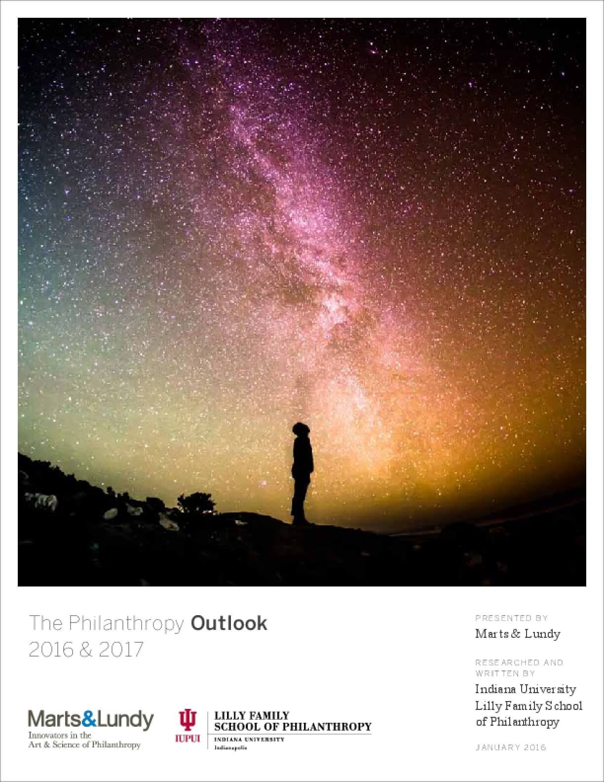 The Philanthropy Outlook 2016 and 2017