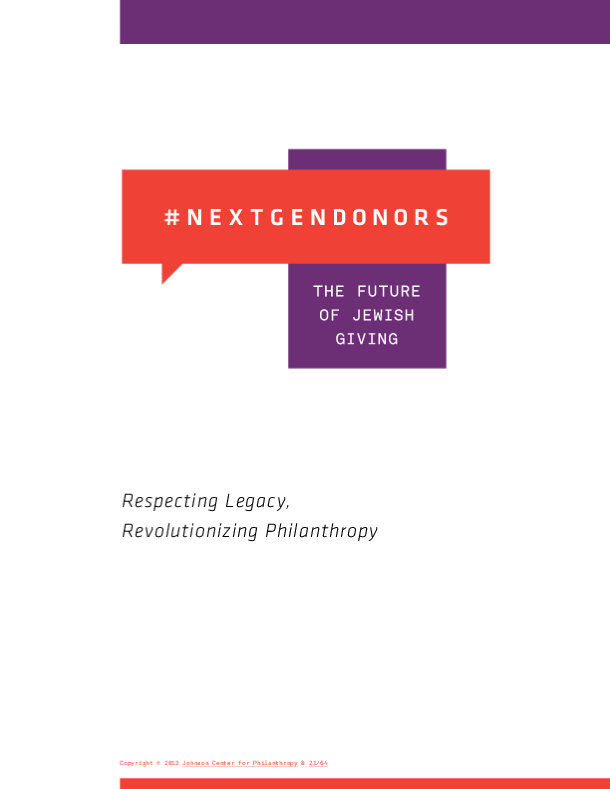 #NextGenDonors: the future of Jewish giving