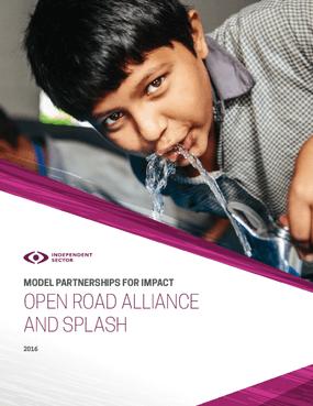 Model Partnership for Impact: Open Road Alliance and Splash