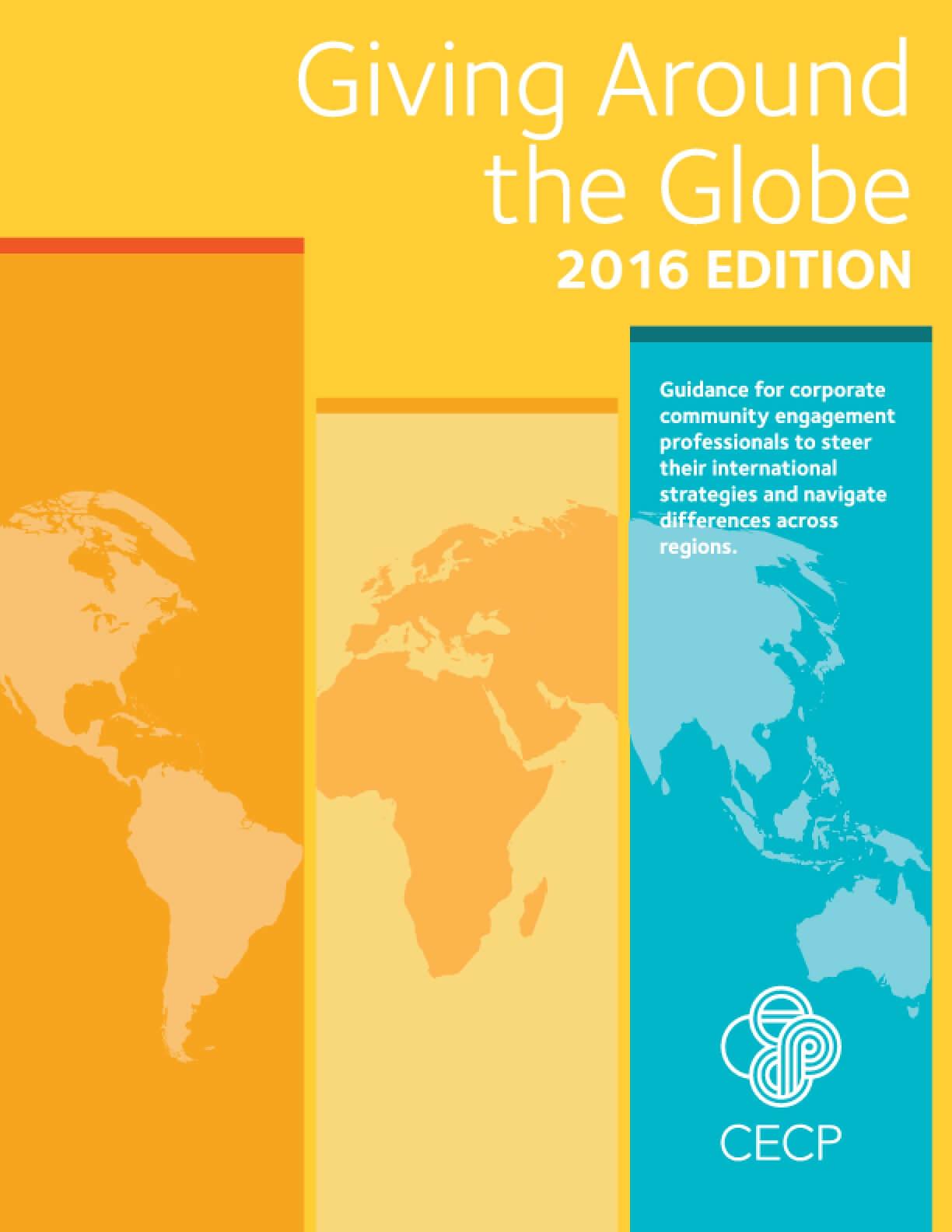 Giving Around the Globe 2016 Edition