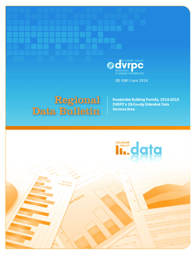 Residential Building Permits, 2010-2015 DVRPC's 28-County Extended Data Services Area