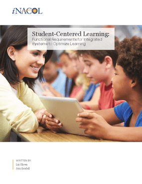 Student-Centered Learning: Functional Requirements for Integrated Systems to Optimize Learning