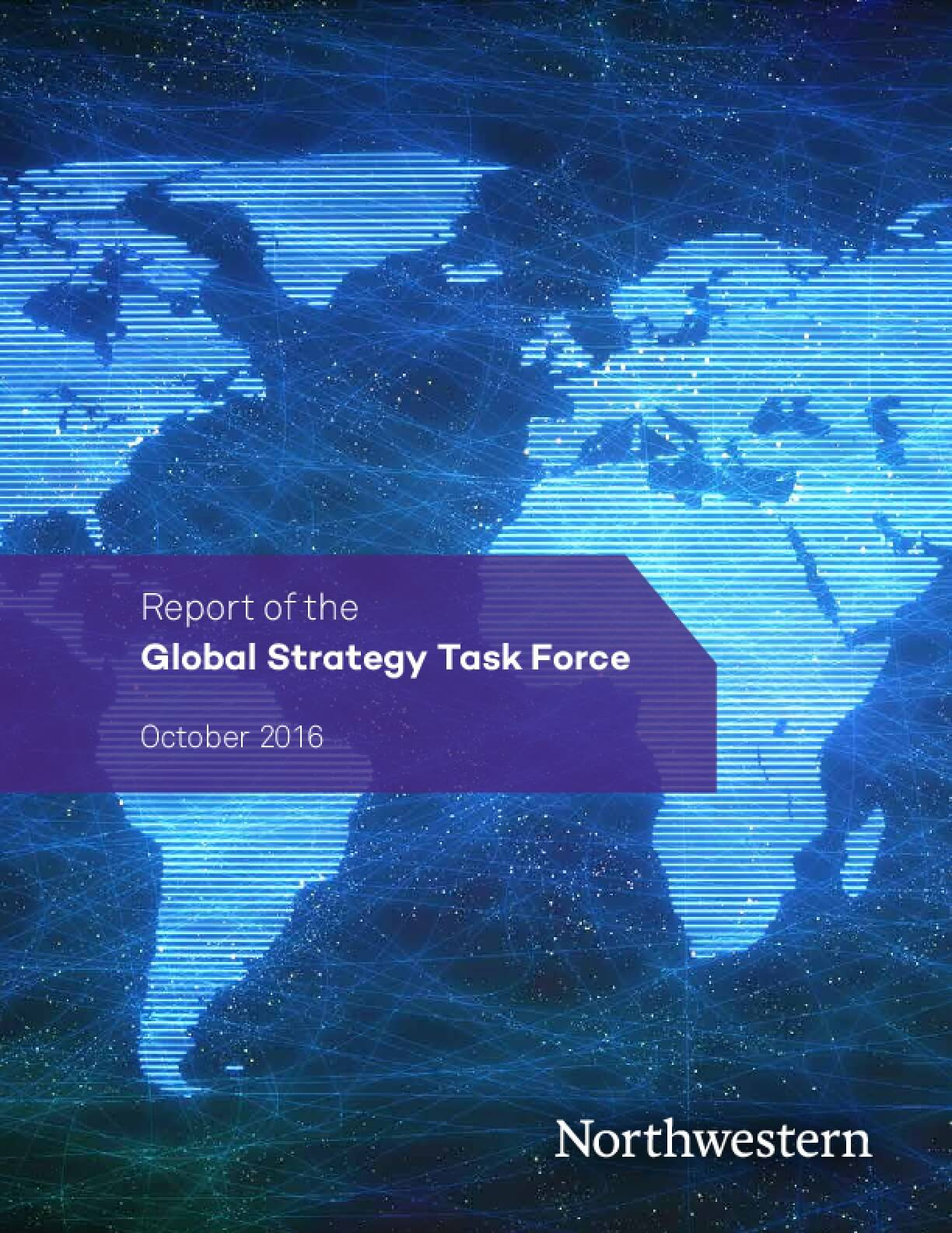 Report of the Global Strategy Task Force