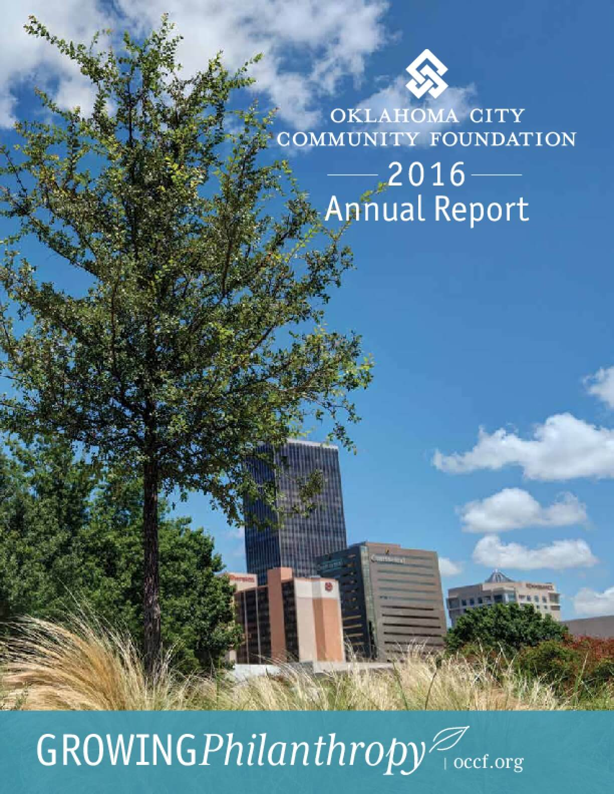 Oklahoma City Community Foundation 2016 Annual Report