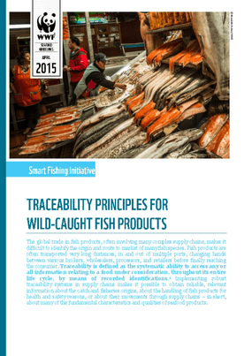 Traceability Principles for Wild-Caught Fish Products