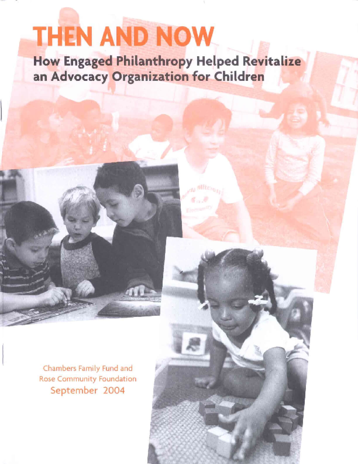 Then And Now: How Engaged Philanthropy Helped Revitalize an Advocacy Organization for Children