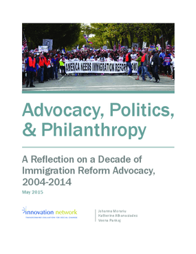 Advocacy, Politics, & Philanthropy