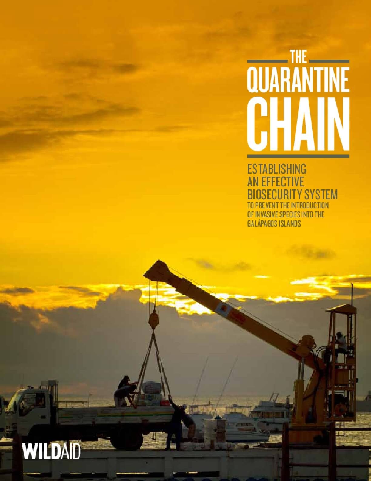The Quarantine Chain: Establishing an Effective Biosecurity System to Prevent the Introduction of Invasive Species into the Galapagos Islands