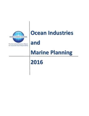 Ocean Industries and Marine Planning