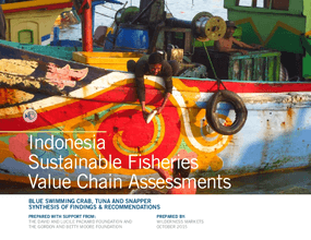 Indonesia Sustainable Fisheries Value Chain Assessments