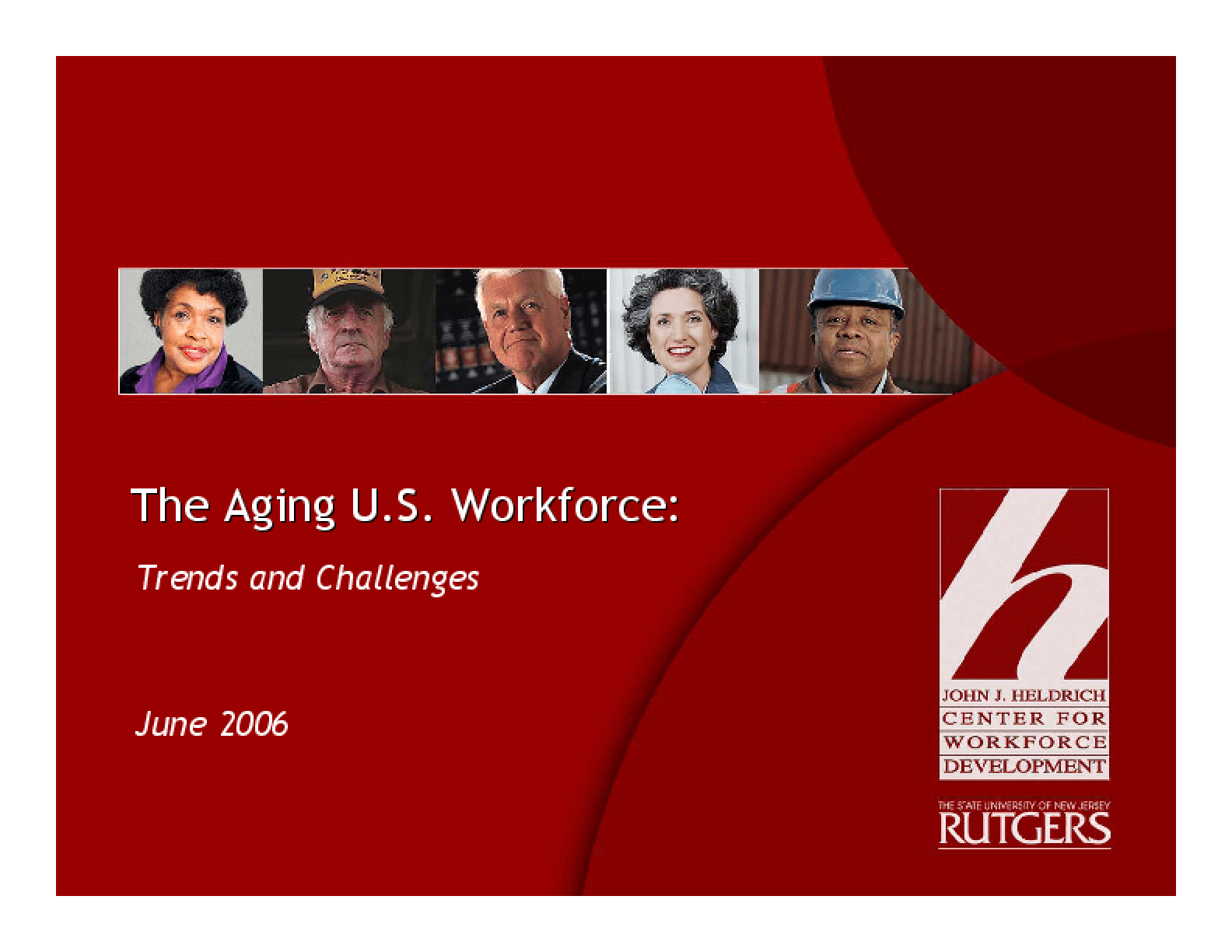 The Aging U.S. Workforce: Trends and Challenges