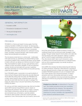 Circular Economy Snapshot: Frogbox