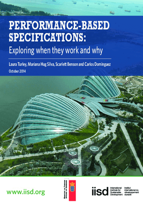Performance-Based Specifications: Exploring When They Work and Why