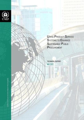 Using Product-Service Systems to Enhance Public Procurement