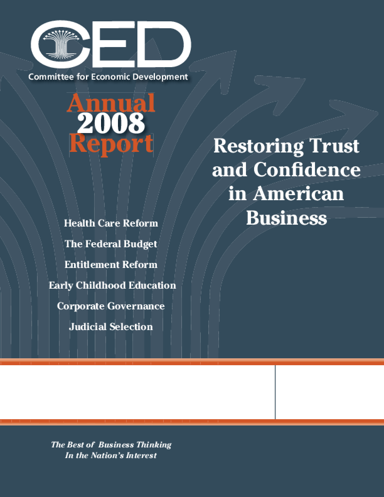 CED's 2008 Annual Report