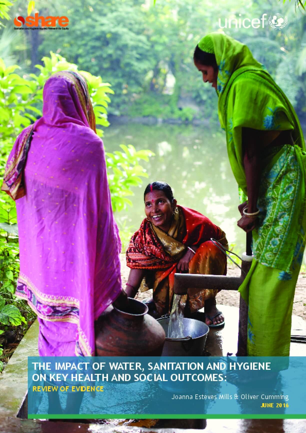 The Impact of Water, Sanitation, and Hygiene on Key Health and Social Outcomes: Review of Evidence