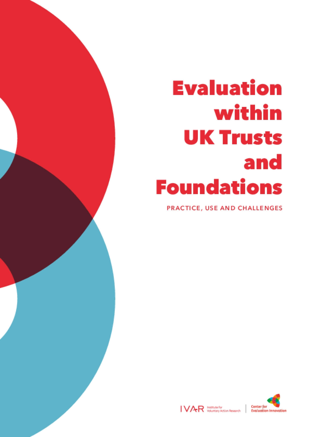 Evaluation Within UK Trusts and Foundations : Practice, Use and Challenges
