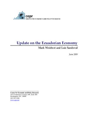 Update on the Ecuadorian Economy