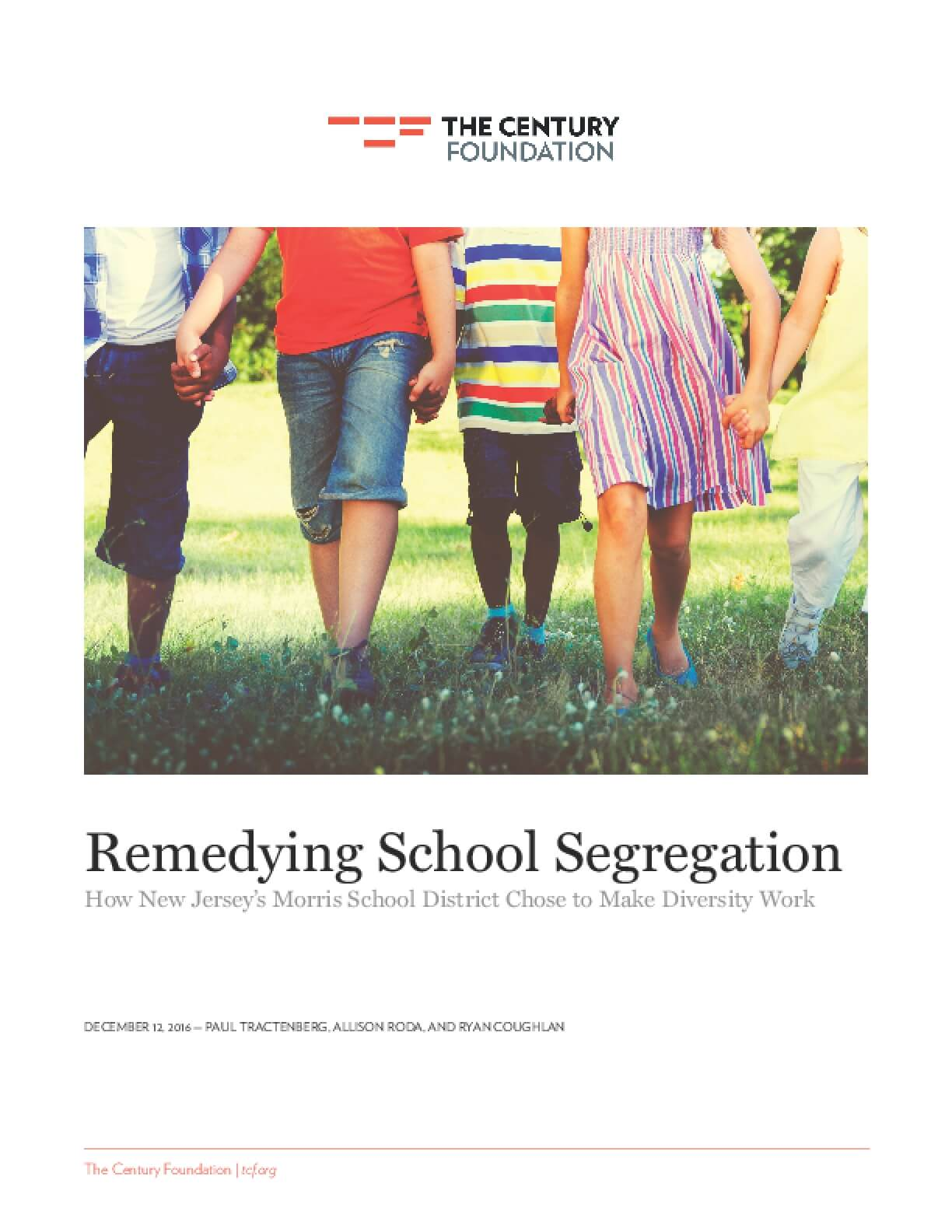 Remedying School Segregation: How New Jersey's Morris School District Chose to Make Diversity Work