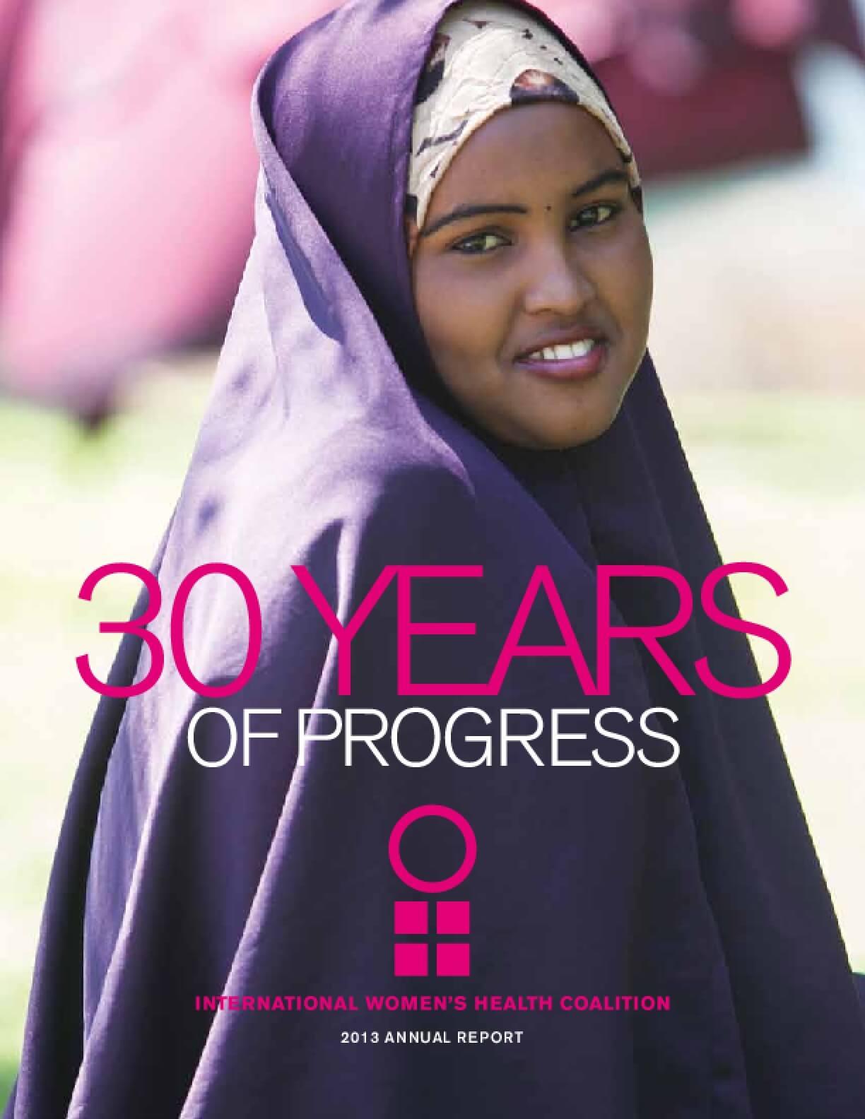 International Women's Health Coalition 2013 Annual Report